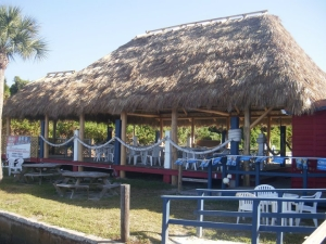 Spanish Pointe Tiki Bar, Osprey, Florida