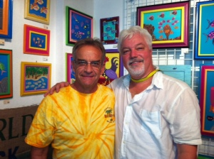 Thanks to Koz of Koz's Green World Gallery in Key West -- a great supporter of Trop Rock!