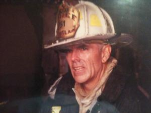 Chief Dick McGuire of the NYFD.